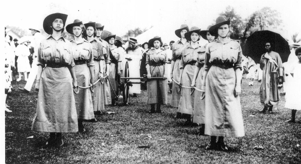 ladies machine gun corps